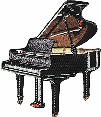 Patch - C&D - Music Themed Piano Iron-On p-4505