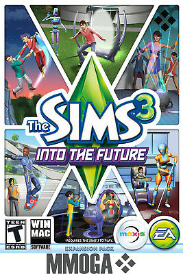The Sims 3 Into the Future Expansion Pack - PC Origin Digital Key - US & CA