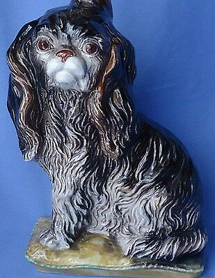 Cavalier King Charles Spaniel Bottle Italy 10""