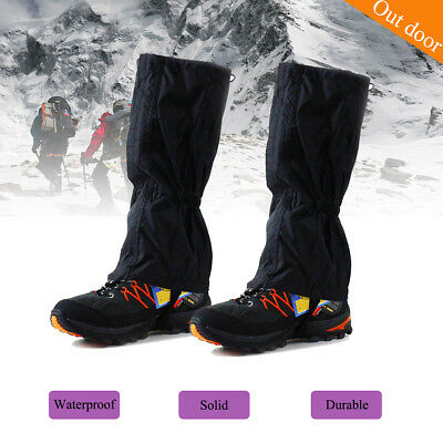 Outdoor Hunting Climbing Hiking Waterproof Legging Cover Boot Chap Snake Gaiters