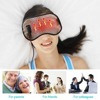 New Health Eye Mask Massager Air Far-infrared Sleep Aid With USB — Best Gift Hot
