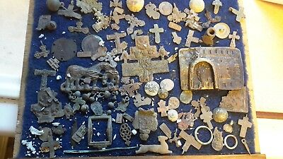 Large Lot Of Detecting Found Items