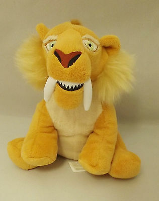 """Ice Age 4 """"diego"""" Sabre Tooth Tiger Film Character Collectable Soft Toy 19Z"""