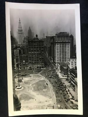 '30 4th Ave from 14th St & Broadway Manhattan New York City Old NYC Photo U270