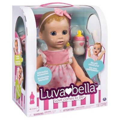 ORIGINAL Luvabella Interactive Blonde Doll By Spinmaster - UK Seller