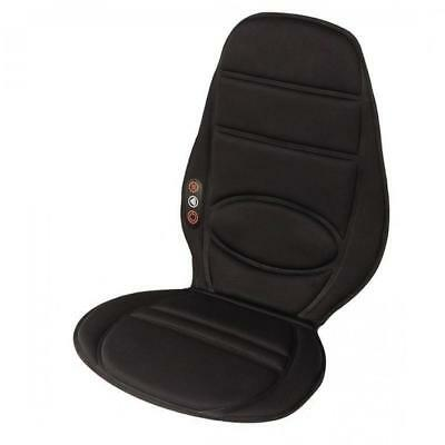 Homedics HO-BKP-112HA-GB Vibration Comfort Back Massage Chair Cushion Black New