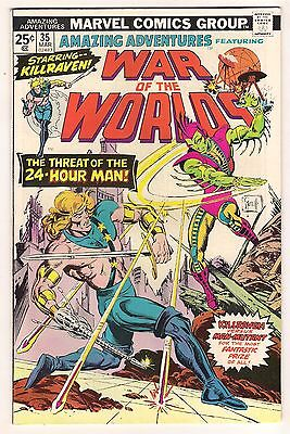 Amazing Adventures No 35 War Of The Worlds Mar 1976 Marvel Offer Encouraged