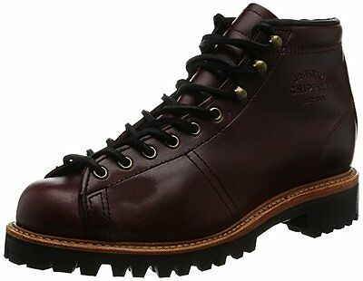 "Chippewa Boots MEN'S 5"" CORDOVAN LACE-TO-TOE FIELD BOOTS Leather USA Made"