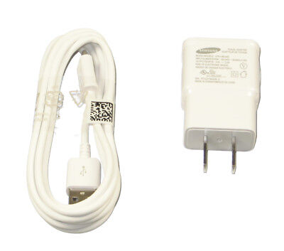 Original OEM Samsung Wall Charger USB Cable for Galaxy S2 S3 S4 S6 S7 Note 4