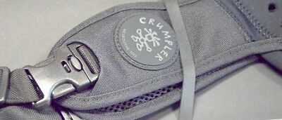 "Crumpler ""The Convenient Disgrace""  Camera Strap.  Really Strong."