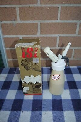 Vintage 250ml ISI Cream Whipper made in Austria