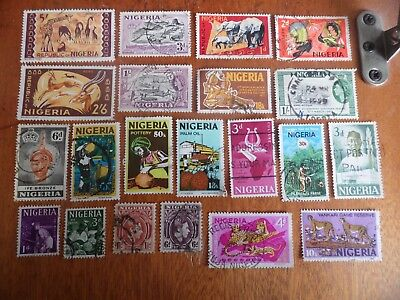 nickstampshop ~~Nigeria ~ Mixed Used ~ Lot 4
