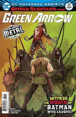 Green Arrow #32 Metal Tie-In Near Mint First Print Bagged And Boarded
