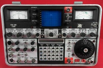 IFR/Marconi FM/AM 1500 Communication Service Analyzer