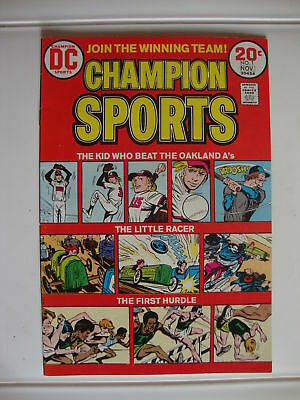 Champion Sports #1 VF Kid Who Beat The Oakland A's