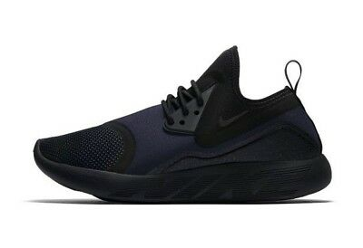 b50183721bb011 Womens Nike Lunarcharge Essential Running Shoes Size 6.5 Black Navy 923620  007