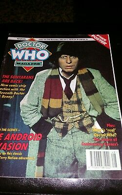 Doctor Who Magazine #193 1992 Vintage Sci Fi Rare + Poster