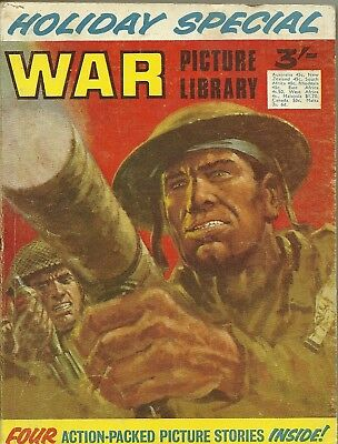 War Picture Library Holiday Special 1970 Commando Battle Battleground Combat