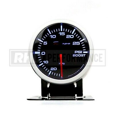 Depo Racing 52Mm Boost Pressure Gauge (Psi) | Turbo Universal Analogue