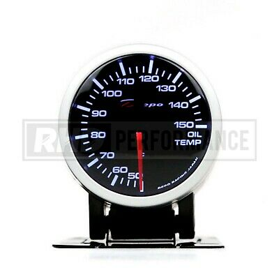 DEPO RACING OIL TEMPERATURE GAUGE 52mm ILLUMINATED UNIVERSAL MECHANICAL JDM