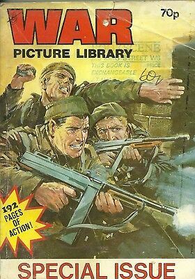 War Picture Library Special Issue 1985 Commando Battle BattlegroundHoliday