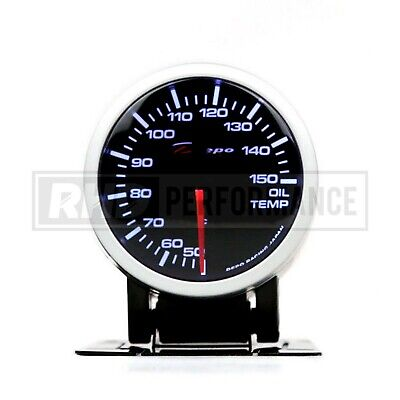 Depo Racing 60Mm Oil Temperature Stepper Gauge | Illuminated Universal Analogue