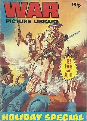 War Picture Library Holiday Special 1987 Commando Battle Battleground Combat