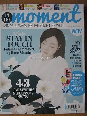 In The Moment magazine August 2017 Second Issue 2 Mindfulness Wellbeing