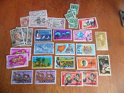 nickstampshop ~~Nigeria ~ Mixed Used ~ Lot 5