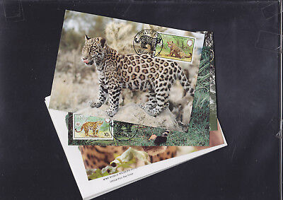 059370 WWF Belize Maximum Card´s + FDC First Day Cover´s