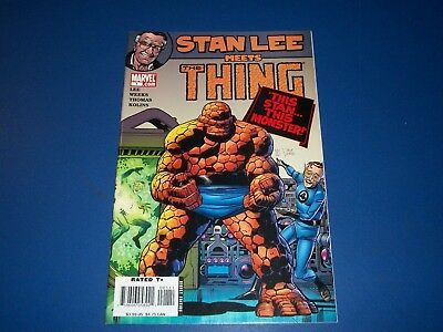 Stan Lee Meets the Thing #1 VFNM Beauty Rare