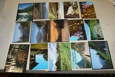179 Vintage Glacier Park Montana Postcards 50'S 60'S 70'S 80'S Free Shipping