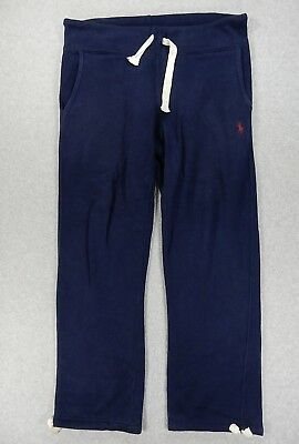 Polo Ralph Lauren Classic Solid Midweight Sweatpants (Mens Small) Blue
