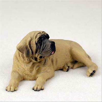 Mastiff Dog Hand Painted Canine Collectable Figurine Statue