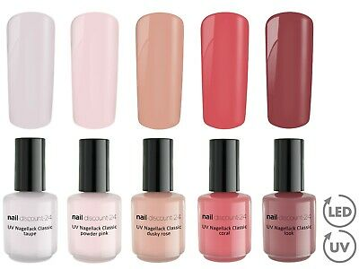 ROSY ROSE Collection 5 x UV LED Polish im Gele SET Soak Off Nagel Lack Soak Off