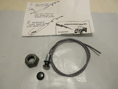 Marvelous Willys Jeep Wiring Harness Wwii Mb Gpw 1942 44 No Radio Filter Wiring Digital Resources Bemuashebarightsorg