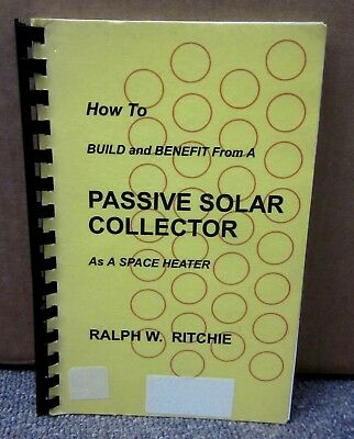 PASSIVE SOLAR COLLECTOR AS A SPACE HEATER eco handbook 1993 instructions