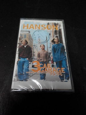 HANSON - 3 CAR GARAGE : THE INDIE RECORDINGS 95-96 Malaysia Cassette