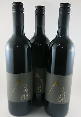 3 X Atlas Wines Section 32 Clare Valley Cabernet Malbec 2010, Rated 90/100
