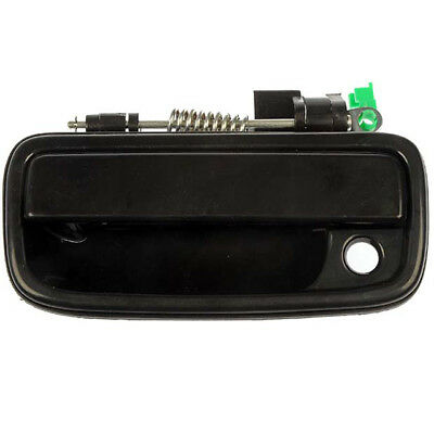 Exterior Outer Black Front Left Driver Side Door Handle For Toyota Tacoma 79344