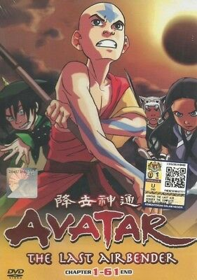 AVATAR Paket | Last Airbender+Legend of Korra | Eps.001-113 | 8 DVDs in 2 Sets