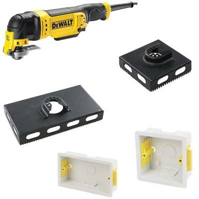 Multi Tool Blades Sockets 2 OR 1 Gang back boxes Pattresses Plasterboard Wood