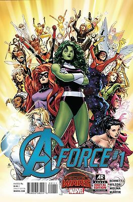 A-Force #1 (Marvel 2015) Near Mint First Print Bagged And Boarded