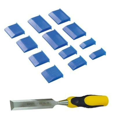 "Wood Chisel Edge Guards Protectors 2off each size1/4"" 1/2"" 3/4"" 1"" 1 1/4"" 1 1/2"""