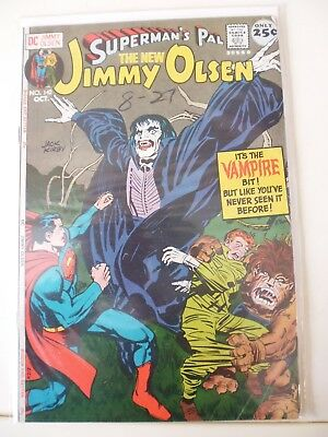 Jimmy Olsen (Superman's Pal) Issue # 142. Classic Jack Kirby. Dc Silverage Comic