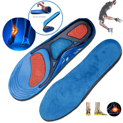 Silicone Gel Insoles Men Women Insoles orthopedic Massaging shoe pad Inserts SFC