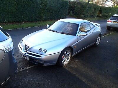 Alfa Romeo GTV Lusso with V6 3 litre Busso engine, 6 speed box, full red leather