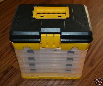Storage Organizer Bin Tackle Box Drawer for Small Parts Lego Technic Mindstorms