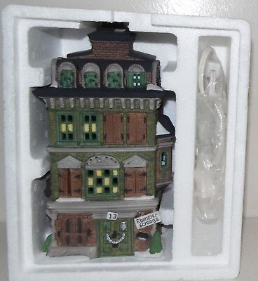 The Flat of Ebenezer Scrooge Dickens Village Series Heritage Dept 56 55875