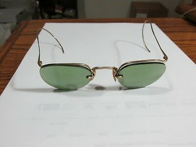 Vintage Bausch and Lomb Wire Frame Sunglasses w/ Prescription Lenses